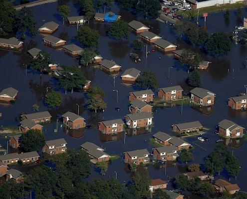 NC Flood from Hurricane
