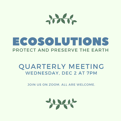 EcoSolutions Qrtly Meeting